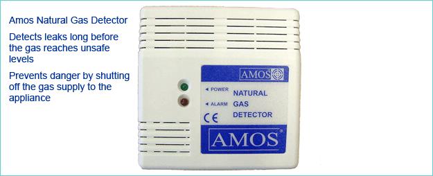 Natural Gas Detector Alarms & Natural